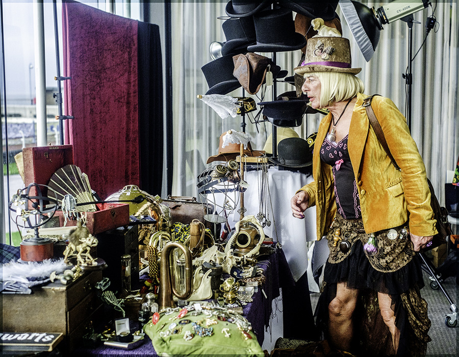 photoblog image Steampunk Event, Morecambe.