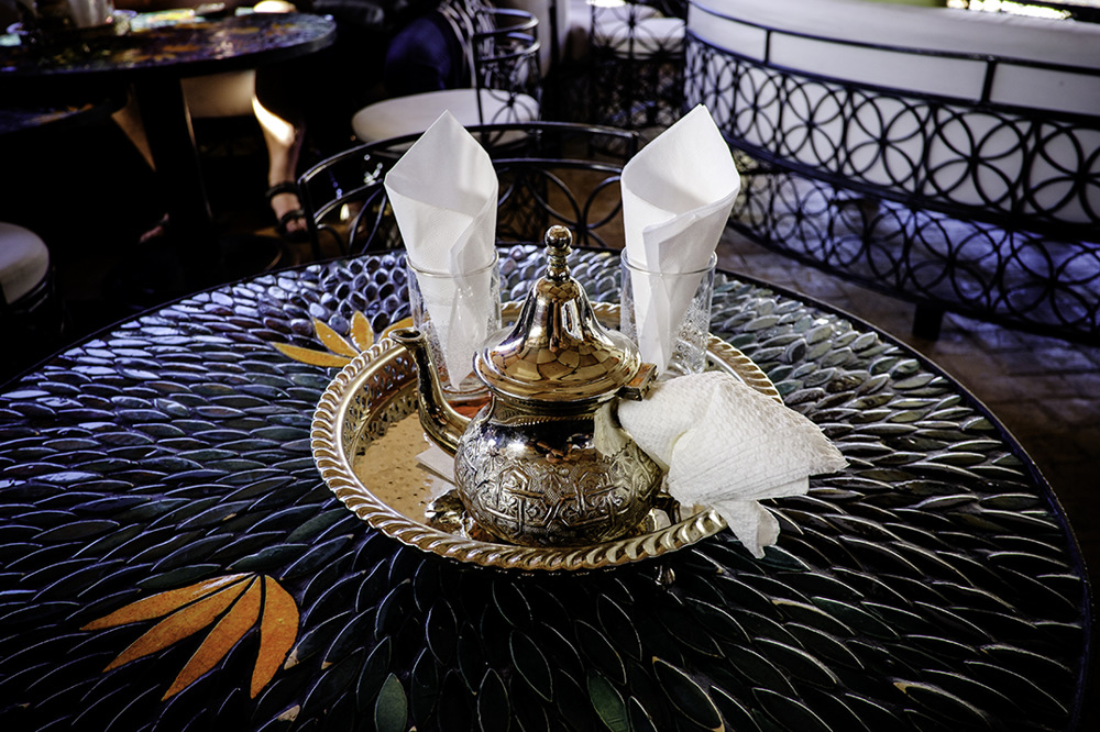 photoblog image Marrakesh,Mint Tea.
