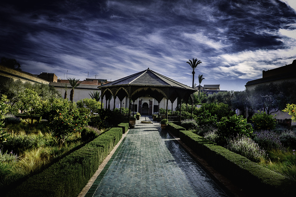 photoblog image Marrakesh.Secret Gardens.
